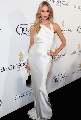 Natasha Poly attends Gyunel fashion show in Cannes 2015